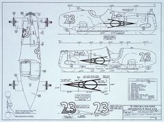 Plans for 1935 Miller-Ford Indianapolis race car