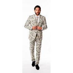 Nu Luxe pak voor heren dollars bestellen voor � 69.95. Ruim aanbod Business suits coole prints, waaronder Luxe pak voor heren dollars in de
