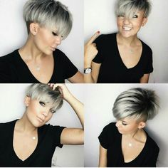 Undercut Layered Pixie