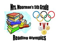 Teaching in Room 6: The Reading Olympics --- The Basics