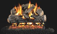 R. H. Peterson RealFyre Charred Northern Oak Vented Gas Log Set (CHN)