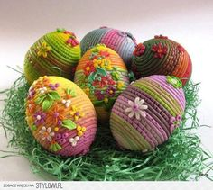 Eggs made with Polymer Clay from Stylowi.pl