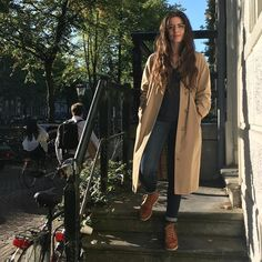 Our very own @evavonl of @tenuedenimes in the new Red Wing Women's collection. Eva is wearing the 3375 Moc Toe in Oro-legacy. All sizes, 34.5 untill 42, are available at http://ift.tt/180OFjM http://ift.tt/2d6E1nN                                                                                                                                                                                 More