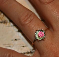 digby and iona watermelon tourmaline rings - Google Search