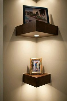 20+ DIY Corner Shelves to Beautify Your Awkward Corner
