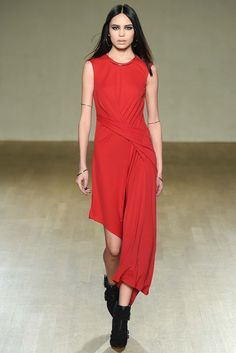 Lovely. Just the right but of draping and tricksiness about the hem. Issa - Fall 2015 Ready-to-Wear