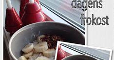 Har du hørt om kjøleskapgrøt? Det har jeg lagd mange ganger, og det er så kjekt og raskt å lage. Så smaker den faktisk godt også... Granola, Pudding, Desserts, Food, Tailgate Desserts, Deserts, Muesli, Essen, Puddings