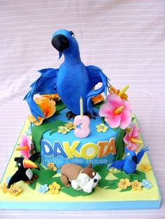 Recent Photos The Commons Getty Collection Galleries World Map App Rio Birthday Cake, Rio Birthday Parties, 8th Birthday, Birthday Ideas, Rio Cake, Rio Party, Jewel Cake, Fondant, Cake Topper Tutorial