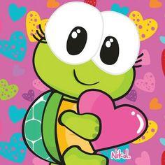 Tortoise Turtle, Turtle Love, Cute Turtles, Cute Photos, Pattern Wallpaper, Blackwork, Cartoon, Stickers, Drawings
