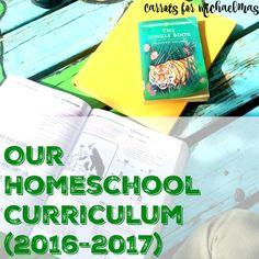 Our Homeschooling Curriculum with a 2nd Grader, a Preschooler, and a Toddler (2016-2017)
