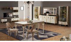 Agera Modern Yemek Odası Balhome Mobilya