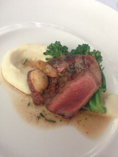 Tri-Tip with Roasted Garlic and Rosemary Brown Butter Mash Potatoes  St. Louis - Wedding - Event - Catering