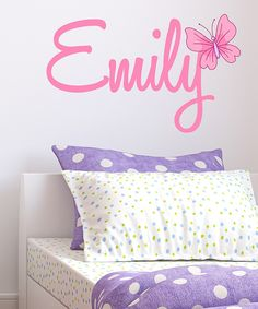 Butterfly Personalized Wall Decal