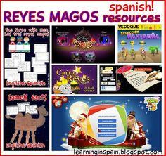 Learning in Spain: Reyes Magos week!