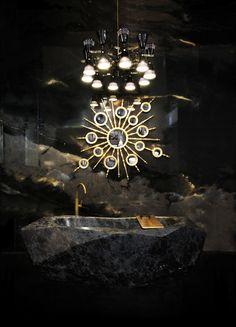 MIRROR DESIGNS FOR LUXURY BATHROOM BY MAISON VALENTINA http://maisonvalentina.net/blog/mirror-designs-luxury-bathroom-maison-valentina/ #bathroommirror #bathroom #bathroomideas #bathroomdesigns #mirrordesigns #roundmirror #luxurymirror