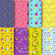 Textile Patterns, Print Patterns, Costura Vintage, E Design, Graphic Design, Adornos Halloween, Bullet Journal Books, Memphis Design, Church Design