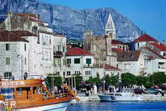 Makarska, Croatia. Met my husband here in 1990