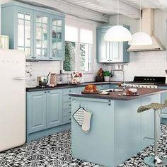 Cocina práctica y decorativa