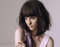 Hairstyles with Bangs Court Spring Summer 2018 - 2019 to Cover your Forehead and Highlight Your Look Short Bangs, Long Hair With Bangs, Natural Hair Journey, Bangs Ponytail, Hair Tape, Hair Up Or Down, Look 2018, Haircut Designs, Light Eyes