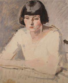 Betty by Samuel John Peploe (Scottish 1871-1935)