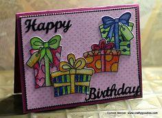Cards with Els ( Elizabeth Craft Designs) ~