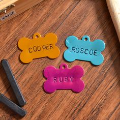 What pooch wouldn't love these hand stamped dog tags? @allisongm shows how to make 'em! /ES