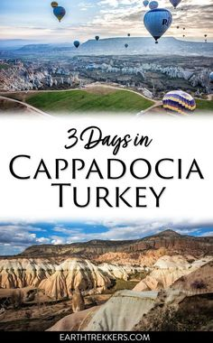 Three days in Cappadocia, Turkey Itinerary. Best hikes, best things to do, where to eat, and so much more. #cappadocia #turkey #familytravel