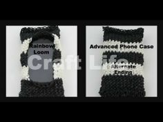 Advanced Phone Case on the Rainbow Loom Alternate Ending Tutorial