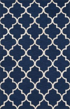 Panache Navy / Silver 2Ft 3In X 3Ft 9In Rug