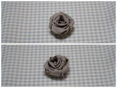 Deliziose roselline di stoffa