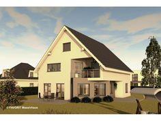 Premium 76/95 - #Einfamilienhaus mit #Einliegerwohnung (ELW) / #Zweifamilienhaus von Bau Braune Inh. Sven Lehner | HausXXL #Mehrgenerationenhaus #modern #Satteldach