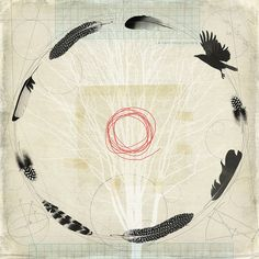 flight path by fiona watson art, via Flickr