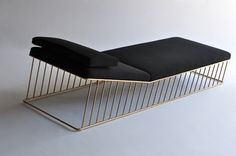 wired italic chaise takes its cues from the wired family yet the spokes are all angled forward- thus the name italic