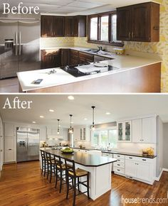 Etonnant Kitchen Remodel Before U0026 After In Cincinnati, ...
