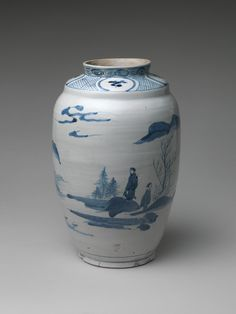 Jar with Landscape | Japan | Edo period (1615–1868) | The Met