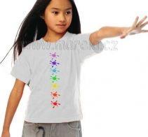 Marela - Dětské čakrové tričko - kaňky | Originální těhotenská móda Chakras, T Shirt, Women, Fashion, Supreme T Shirt, Moda, Chakra, Tee Shirt, Fashion Styles