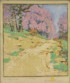 Gustave Baumann:  The Ridge Road