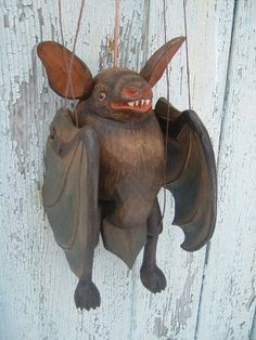 Fledermaus  ,  marionette puppe