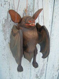 Bat ,  Czech marionette puppet