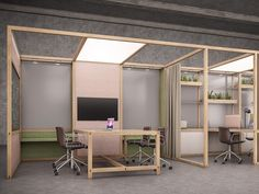 Multiple office workstation for open space – OFFICE By design Nicholas Bewick – Cool Office Space Industrial Office Design, Modern Office Design, Office Interior Design, Office Interiors, Cool Office Space, Open Office, Office Workstations, Studio Room, Open Plan