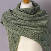 FREE PATTERN Mossie pattern by Brian smith---knit on 9's with 2 strands of fingering wt. (950 yds total)