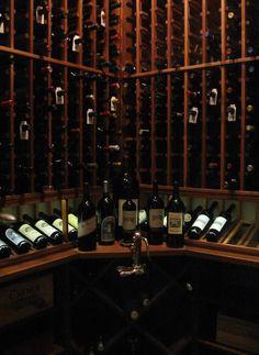 Kessick - 'Estate Series' wine racks in a custom wine cellar Wine Guy, Drinks Cabinet, Wine Cabinets, Tasting Room, Wine Storage, Luxury Life, Wine Rooms, My Dream Home, Perfect Place