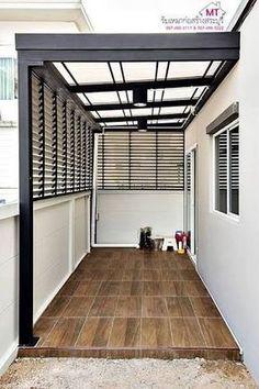 40 ideas house design modern exterior patio for 2019 Exterior House Colors, Exterior Doors, Diy Exterior, Exterior Paint, Modern Exterior, Exterior Design, Modern Patio, Door Design, House Design