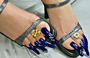 Pretty Toe Nails, Pretty Toes, Long Toenails, Rubber Doll, Beautiful Toes, Toe Nail Designs, Body Painting, Manicure, Hair Cuts