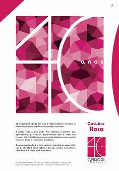 Lfernandes: Anúncio Gracal | Outubro Rosa