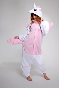 Pink Unicorn Adult Onesie Kigurumi.... cute ^_^