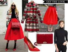 Look for less - red midi