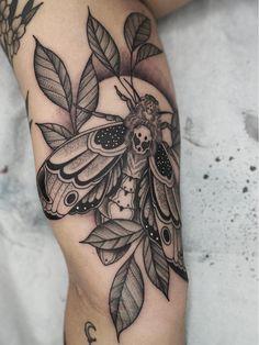 Nature tattoo by Kyle Stacher aka Thief Hands Pretty Tattoos, Cute Tattoos, Leg Tattoos, Beautiful Tattoos, Body Art Tattoos, Sleeve Tattoos, Nature Tattoo Sleeve, Dream Tattoos, Badass Tattoos