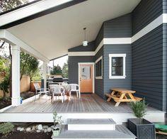 My Craftsman style dream house porch