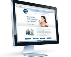Website TSG Wasserspender & Tafelwasseranlagen aus Weyhe